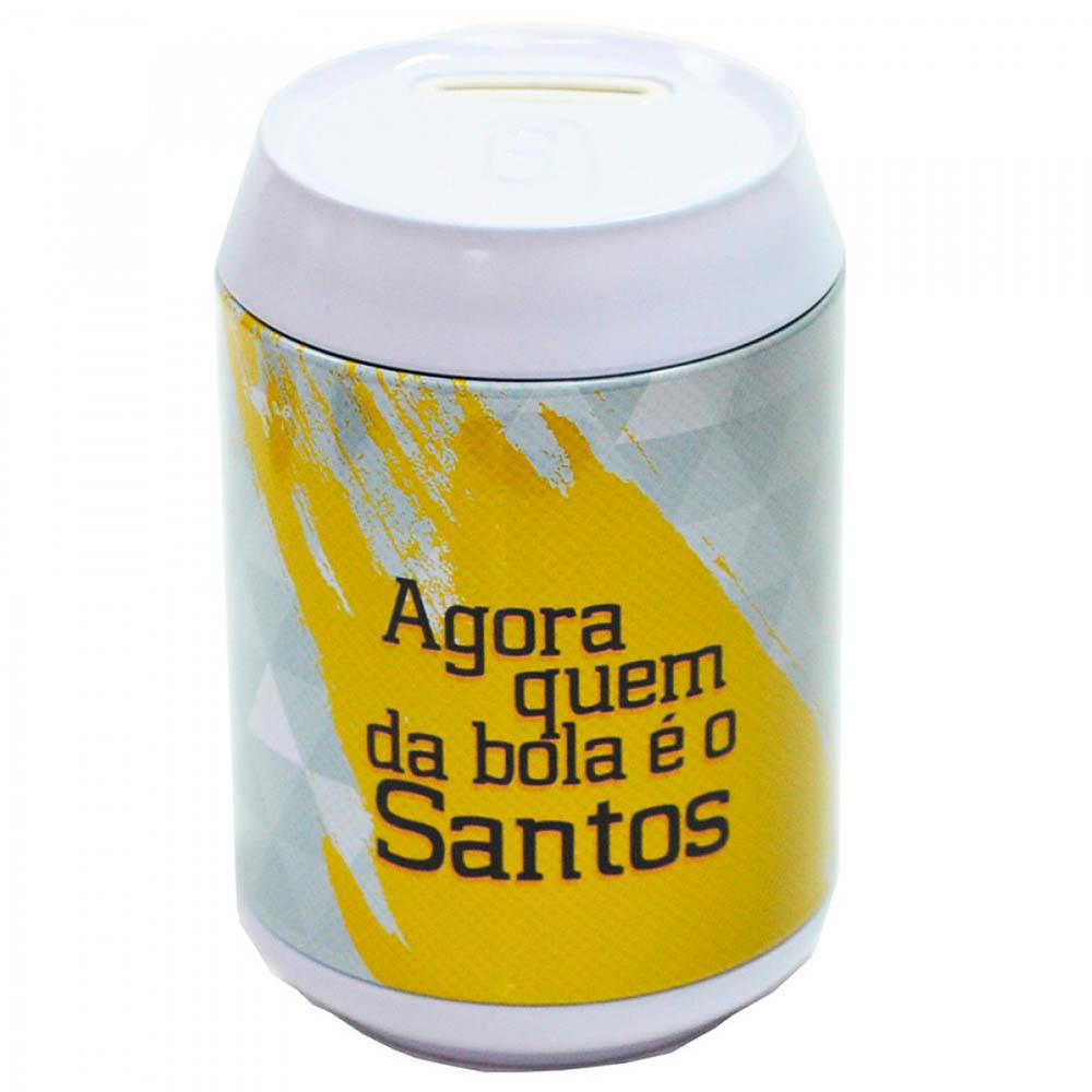 Chaveiro De Bichinho Santos Dentro Da Lata De Metal