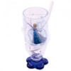 Copo Azul Com Canudo Elsa Frozen 200ml