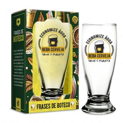 Copo Munich Economize Água Beba Cerveja