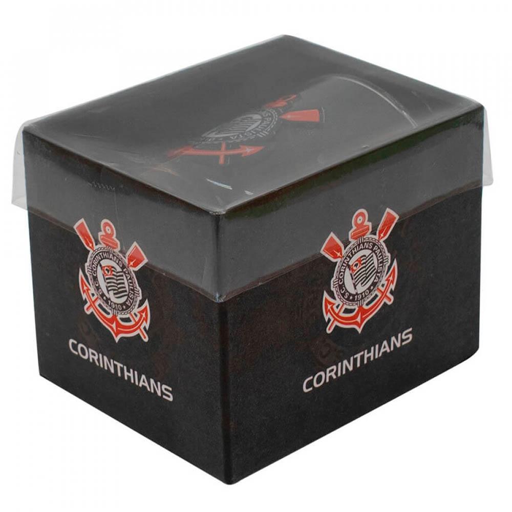 Copo De Vidro Com Abridor Garrafas Corinthians 250ml