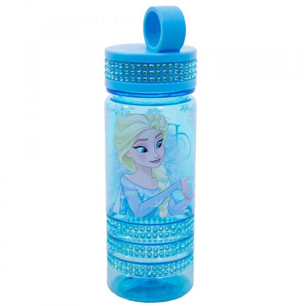 Garrafa Azul Elsa Frozen 500ml