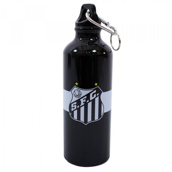 Garrafa De Alumínio Santos Com Mosquetão 500ml