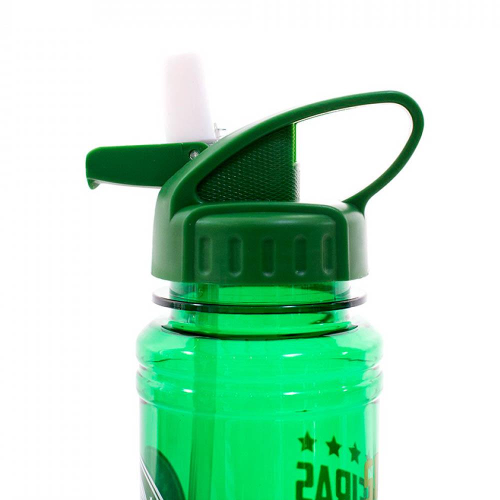 Garrafa De Plástico Palmeiras Com Canudo Retrátil 700ml
