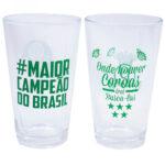 Conjunto De 2 Copos De Vidro Palmeiras 475ml
