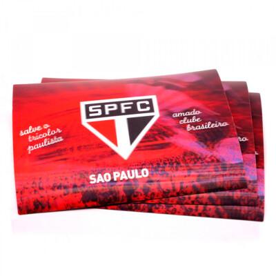 Jogo Americano São Paulo 3d 4 Peças