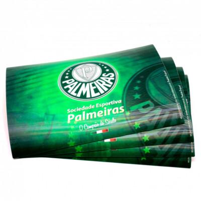 Jogo Americano Palmeiras 3d 4 Peças