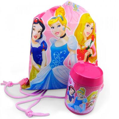 Lata E Mochila Saco Princesas