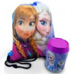 Lata + Mochila Saco Anna Elsa E Olaf Frozen