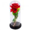 Luminária Rosa Encantanda A Bela E A Fera 24x12cm