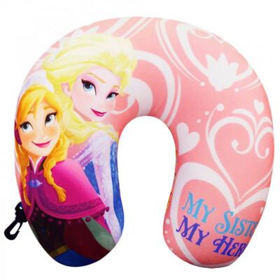 Almofada De Pescoço Anna E Elsa Isopor Frozen