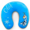 Almofada De Pescoço Azul Olaf Fibra Frozen