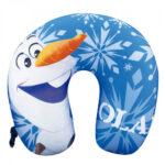 Almofada De Pescoço Azul Olaf Frozen Isopor