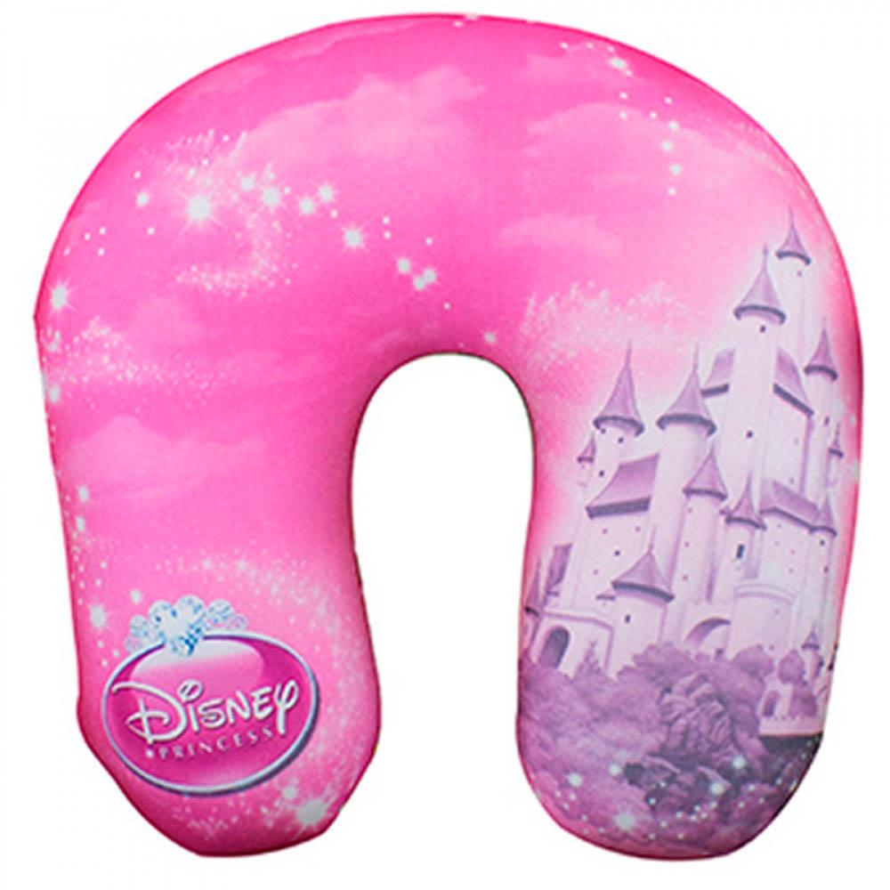 Almofada De Pescoço Rosa Princesas Isopor