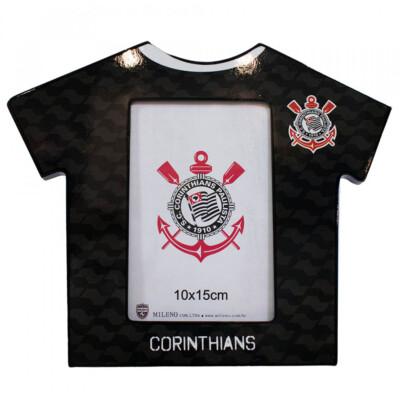 Porta Retrato Camisa Futebol Corinthians Foto 10x15cm