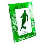 Porta Retrato Palmeiras De Alumínio Para 1 Foto 10x15cm