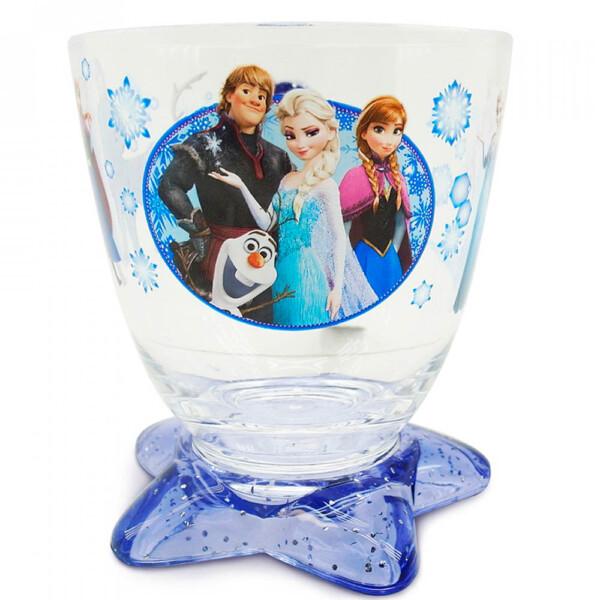 Xícara Acrílico Azul 300ml Frozen
