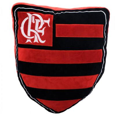Almofada Brasão Flamengo Fibra