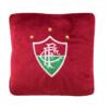 Almofada Fluminense Quadrada Bordô Fibra