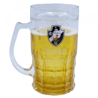 Caneca Cerveja Vasco 400ml