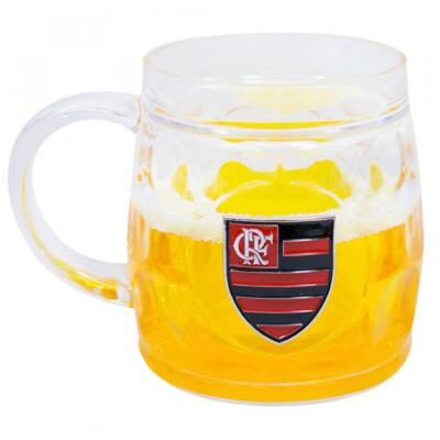 Caneca Cerveja Flamengo Grossa 400ml