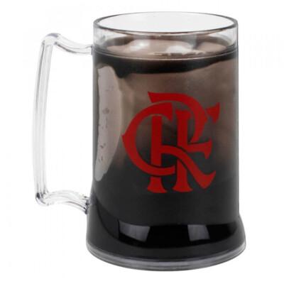 Caneca Gel Flamengo Congelante Térmico 400ml
