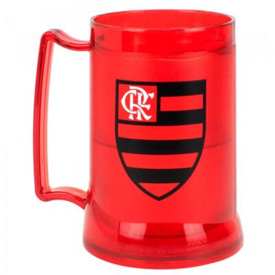 Caneca Gel Flamengo Congelante Térmico Logo 400ml