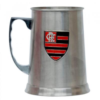 Caneca Flamengo Inox Chopp 420ml