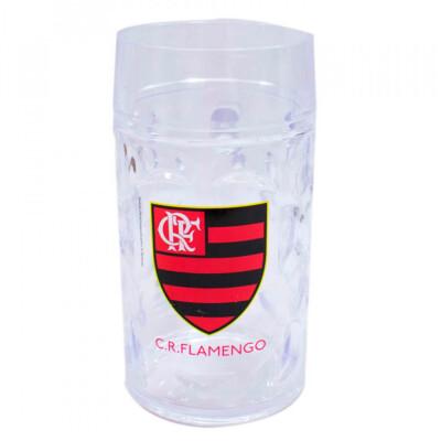 Caneca Flamengo Plástico Gigante 900ml