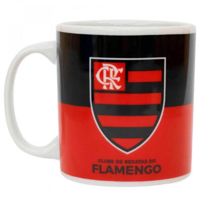 Caneca Flamengo Porcelana 320ml