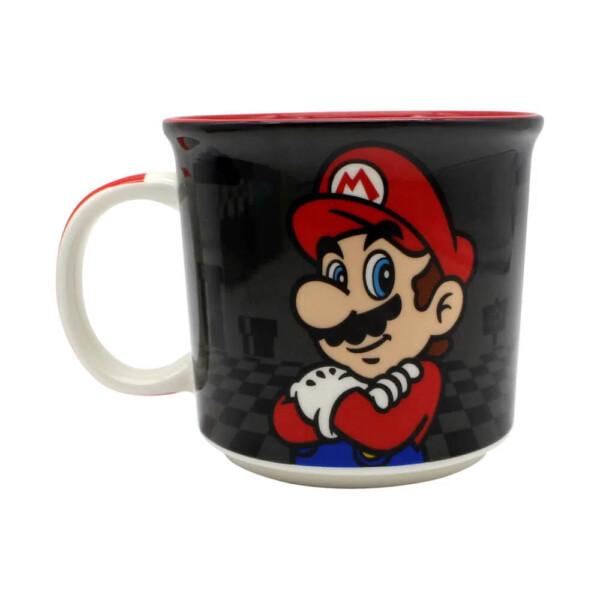 Caneca Super Mario Black 350ml