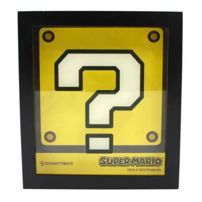 Cofre Bloco Super Mario 19x17cm