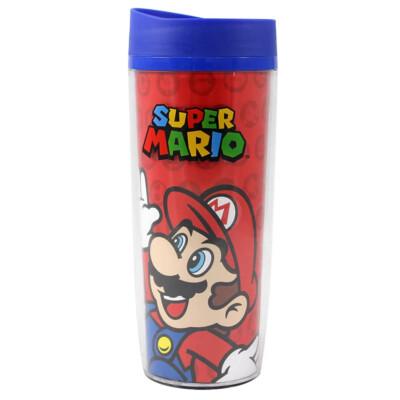 Copo Viagem Mario And Luigi 500ml