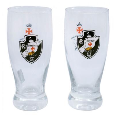 Conjunto Vasco 2 Copos Cerveja 350ml