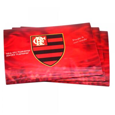 Jogo Flamengo Americano 3d 4 Peças