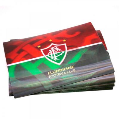 Jogo Americano Fluminense 3d 4 Peças