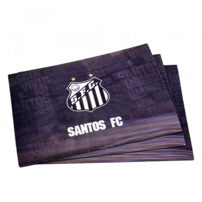 Jogo Americano Santos 3d 4 Peças