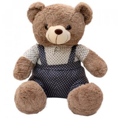 Pelúcia Urso Macacão Estrelas 48cm