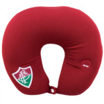 Almofada De Pescoço Fluminensecom Massageador Isopor