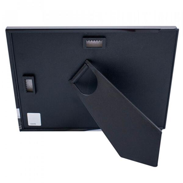 Porta Retrato Metal Santos 1 Foto 10x15cm