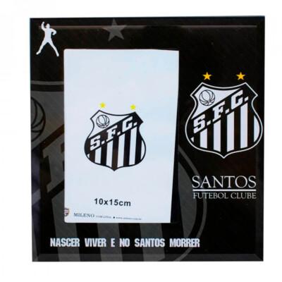 Porta Retrato Santos Vidro 1 Foto 15x10cm