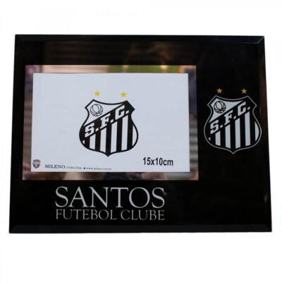 Porta Retrato Santos De Vidro 1 Foto 10x15cm