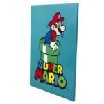 Quadro Metal Super Mario Pipe Green 19x26cm