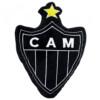 Almofada Atlético Mineiro Brasão Fibra