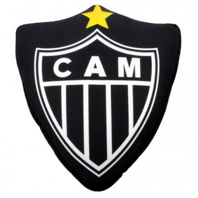 Almofada Atlético Mineiro Em Forma De Brasão Isopor