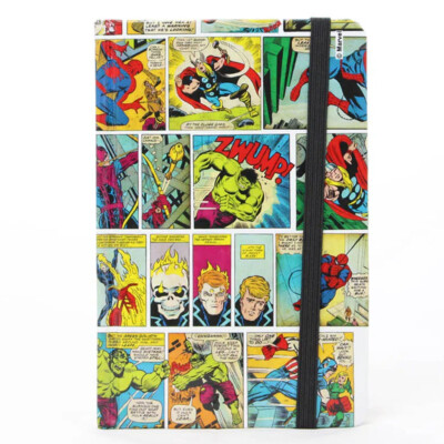 Caderno Marvel Historia Em Quadrinhos