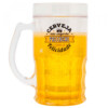 Caneca Cerveja Preenche O Corpo De Felicidade 400ml