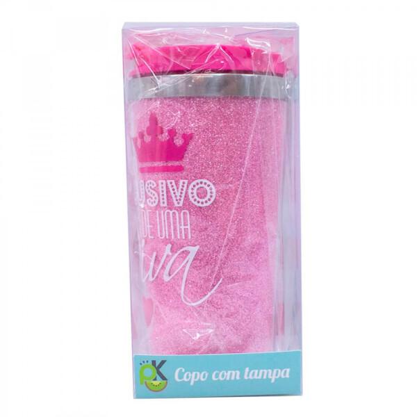 Copo Térmico Rosa Diva 450ml