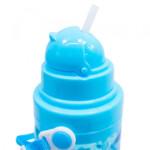 Garrafa Plástico Unicórnio Azul 600ml