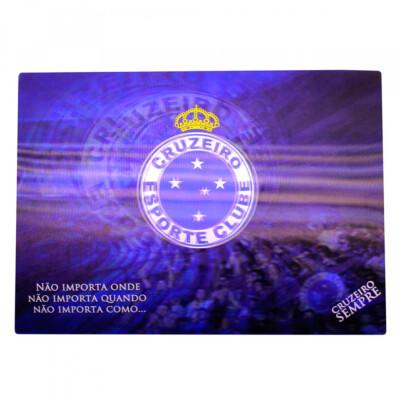 Jogo Americano Cruzeiro 3d 4 Peças