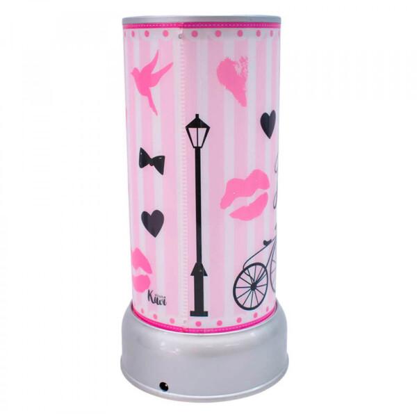 Luminária Giratória Paris Love